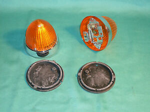 2 Bosch Flasher Lamps Turn Light Amphicar Nos New