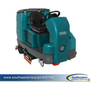 Reconditioned Tennant T16 Disc Rider Floor Scrubber