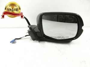Oem 2016 2018 Honda Pilot Ridgeline Side Mirror W Camera Right Passenger Black