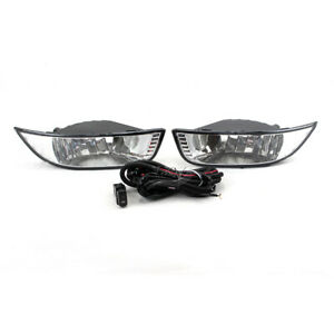 Aftermarket Car Bumper Fog Lamp Kit For Mitsubishi Lancer Ex 2007 2008 2009 2010