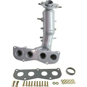 Catalytic Converter With Exhaust Manifold For 04 06 Toyota Rav4 05 06 Tc Front