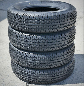 4 Transeagle St Radial Ii Steel Belted St 205 75r14 Load D 8 Ply Trailer Tires