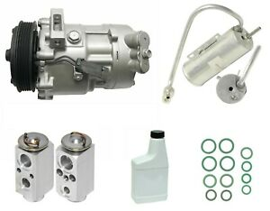 Ryc Remanufactured Complete Ac Compressor Kit Ig558 Fits Saab 9 3 2 0l 05 11