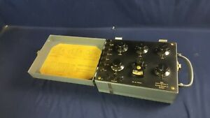Vintage Leeds Northrup Ks 10376 Null Voltage Test Set West Electr 3 day Refund