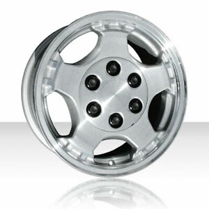 Revolve 16x7 Machined And Silver Wheel For 99 02 Chevy Silverado 1500