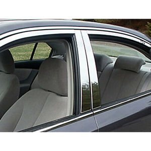 4pc Luxury Fx Chrome Pillar Post Trim For 2006 5 2010 Kia Optima