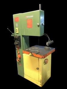 Powermatic Model 87 20 Vertical Metal Band Saw W Blade Welder