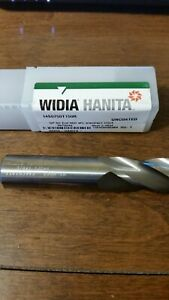 Widia Hanita 3 4 Carbide End Mill Uncoated I4s0750t150r lot Of 2