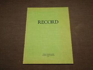Vintage 10 1 2 X 8 Federal Supply Service Record Book Unused New Old Stock