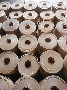 Gummed Tape reinforced 100 Rolls 375 450 500 Ft Special Lots 35 00 A Case 10 Cs