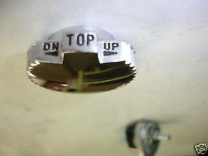1958 Chevrolet Impala Convertible Top Knob For Switch And 58 Chevy Parts Catalog