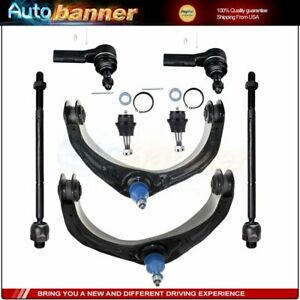 2006 2007 For Dodge Ram 1500 2wd 8pcs Front Lower Control Arms Ball Joints