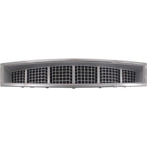Bumper Grille For 2008 2014 Cadillac Escalade Escalade Esv Center Plastic