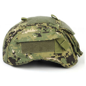 Emerson Airsoft Hunting Tactical Helmet Cover for MICH 2001 ACH Helmet AOR2 Camo