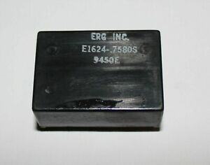Erg E1624 7580s Miniature Isolated Step up Dc dc Converter 24v In 75v Out 6w