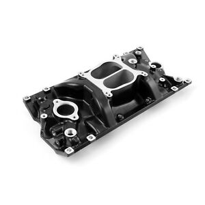 Fits Chevy Sbc 350 Lowrise Vortec Intake Manifold Black