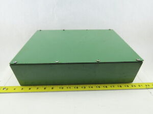 11 X 15 3 4 X 4 Electrical Enclosure Metal Screw On Cover