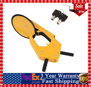 Anti theft Wheel Lock Clamp Tire Claw Parking For Boat Trailers caravan Car New