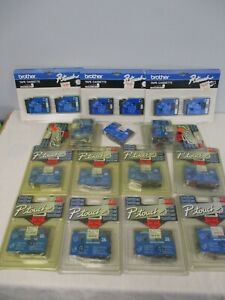 19 Genuine Brother P touch Tz Tape Laminated Labels Nos New Sealed
