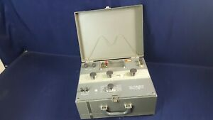 Vintage Leeds Northrup 8687 Volt Potentiometer Rare Glass Face 3 day Refund