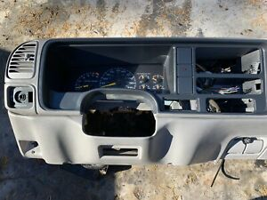 1995 1999 Chevy Gmc Truck Tahoe Suburban Yukon Silverado Dash Core Assembly Gray