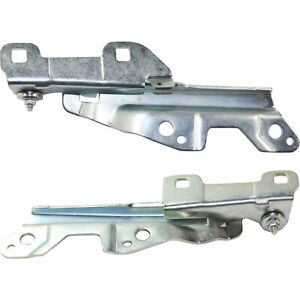 New Hood Hinges Set Of 2 Driver Passenger Side 2r3z16796aa 2r3z16797aa Pair