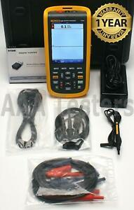 Fluke 124b Industrial Scopemeter 40mhz Handheld Oscilloscope Scope Meter 124