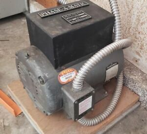 Phase a matic R 7 Rotary Phase Converter 60 Hz 220 Volt
