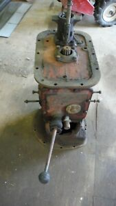 Ford 8n Tractor Transmission Complete Take Out Xlent Condition