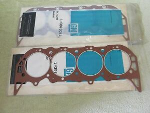 Nos 1968 69 Chevy Can am 430 465 495 Aluminum Big Block Head Gasket Gm 3976081