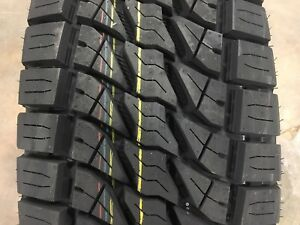 4 New Lionsport At Tires P285 70r17 4 Ply 2857017 All Terrain 33x11 50 A T