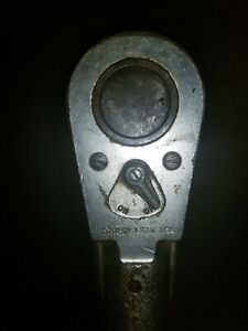 Vintage Snap On Usa L 73c 1 Inch Drive Ratchet Head And Bar 36 Inches