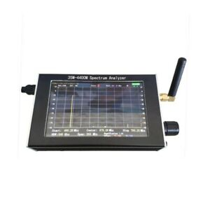 35m 4400m Handheld Simple Spectrum Analyzer 4 3 Lcd Usb Frequency Spectrograph