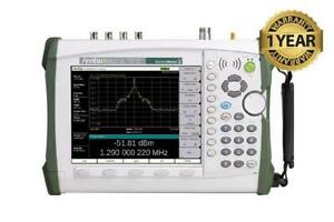 Anritsu Ms2722c Handheld Spectrum Master Analyzer Ms2722