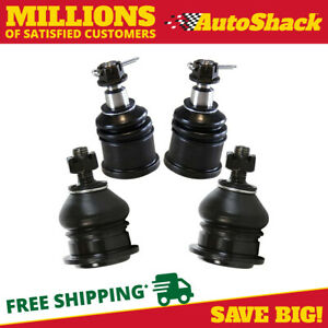 Front Ball Joints 2 Lower 2 Upper For 2004 2008 Acura Tsx 2003 2007 Honda Accord