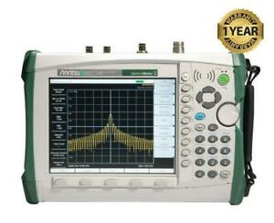 Anritsu Ms2724b Handheld Spectrum Master Analyzer W Options 25 27 31 Ms2724
