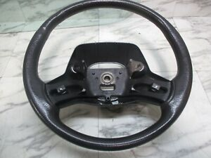 Jeep Wrangler Tj 97 02 Steering Column Wheel Black Agate Oem 375