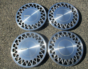 Factory 1991 To 1994 Plymouth Grand Voyager 15 Inch Metal Hubcaps Wheel Covers
