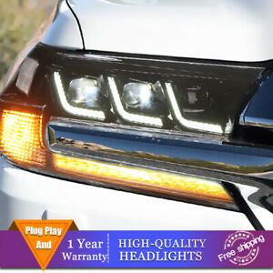 For Toyota Land Cruiser Headlights Double Lens Beam Projector Hid Led Drl 17 20