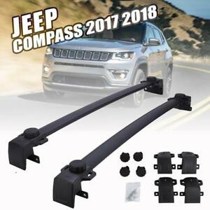Roof Rack Cross Bar Luggage Cargo Carrier Oe Style For 2017 2018 Jeep Compass