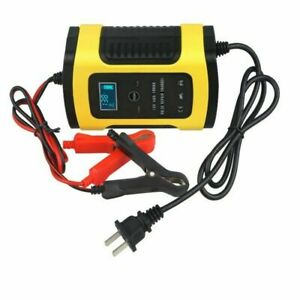 Car Battery Charger Maintainer Auto 12v 5 6a Trickle Repair For Truck Motorcycl