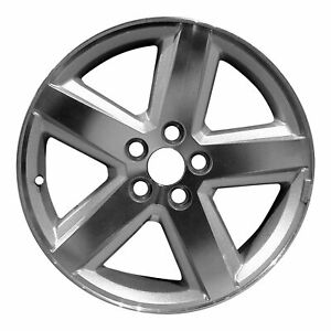 New 18 Cnc Silver Replacement Wheel Rim For 2007 2008 2009 2010 Dodge Avenger