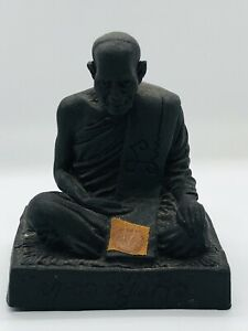 Small Herb Thai Buddhist Monk Statue Lp Kaew