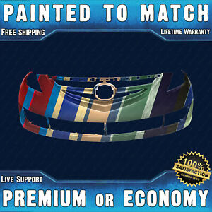 New Painted To Match Front Bumper Cover Fascia For 2009 2013 Mazda 6 09 13
