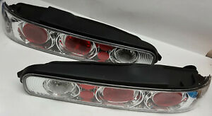 Cool R L Set Of Chrome 2 Door Acura Integra 1994 2001 Replacement Tail Lights