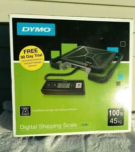 New Dymo S100 Digital Usb Shipping Scale 100 Lb 45 Kg Instarate Postage Software