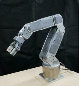Six Degrees Of Freedom 6 Axis Mechanical Robot Arm 24v Dc Power Supply