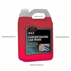 C a r Products Concentrated Car Wash Max 163 Foaming Deep Cleaning 1 Gallon