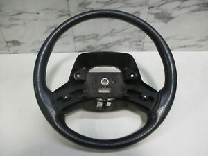 Jeep Wrangler Tj 97 02 Steering Column Wheel Black Agate Oem 1219
