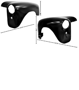 Gmc Pickup Truck Front Fender Set Left Right 1947 1953